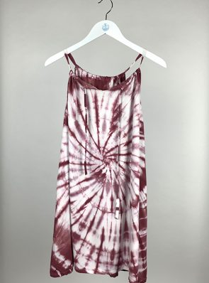Sea Me Happy Sunshine dress burgundy