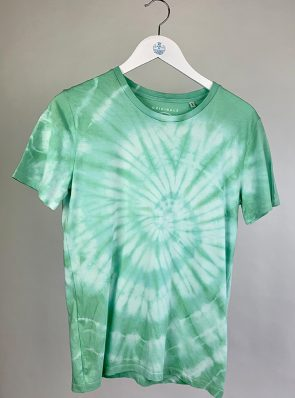 Sea Me Happy T-shirt tie-dye 40-42 green