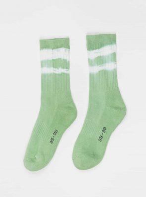 Sea Me Happy Socks tie-dye 11, green, 35-35