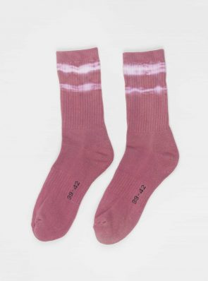 Sea Me Happy Socks tie-dye 5, bordeaux