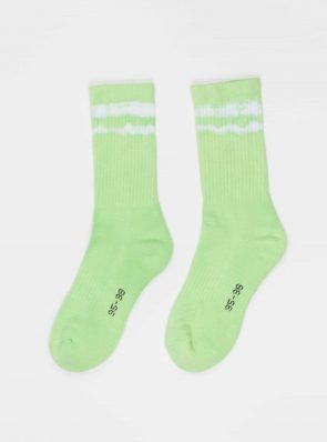 Sea Me Happy Socks tie-dye 9, green