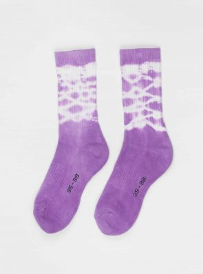 Sea Me Happy Socks tie-dye 12, purple, 35-38