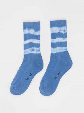 Sea Me Happy Socks tie-dye 16, blue