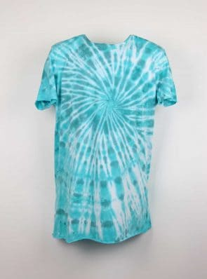 Sea Me Happy, T-shirt dress tie-dye 28, blue