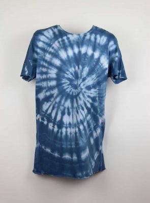 Sea Me Happy, T-shirt dress tie-dye 13, blue