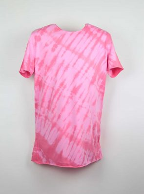 Sea Me Happy, T-shirt dress tie-dye 41, pink