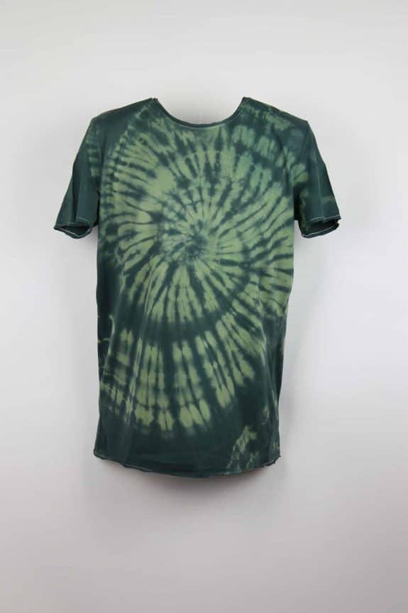 Sea Me Happy, T-shirt dress tie-dye 1, black/khaki