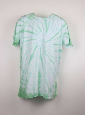 Sea Me Happy, T-shirt dress tie-dye 39, green