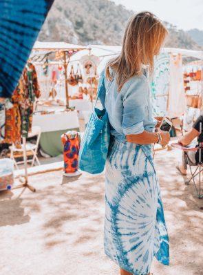 Sea Me Happy wrapskirt for beach and festivals