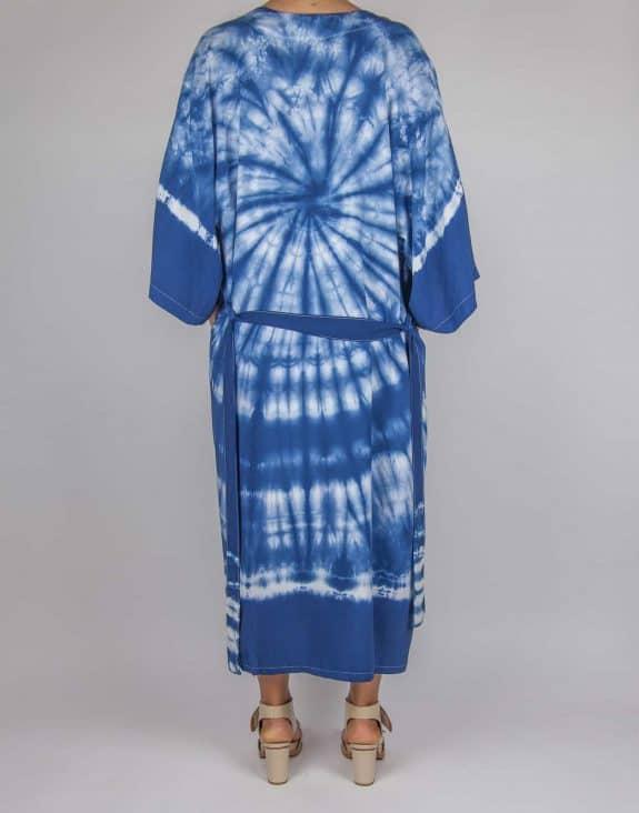 Kimono tie-dye blue, Sea Me Happy