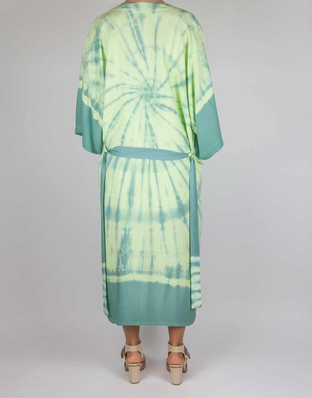 Kimono tie-dye green yellow, Sea Me Happy