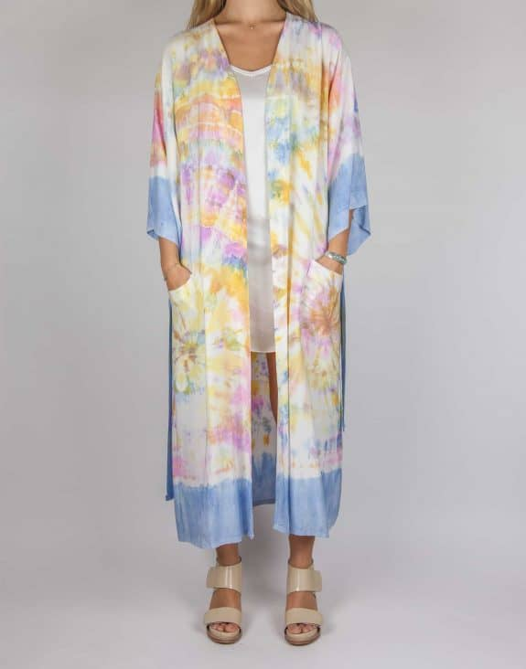 Kimono tie-dye multi-colour, Sea Me Happy
