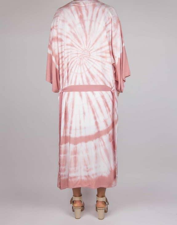 Kimono tie-dye old rose, Sea Me Happy