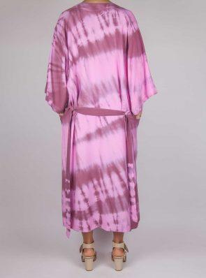 Kimono tie-dye pink bordeaux, Sea Me Happy