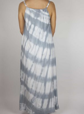 Moon dress tie-dye 4 sea me happy maxi dress back