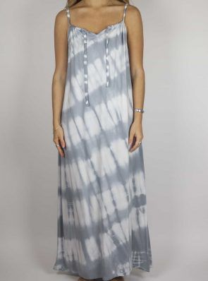 Moon dress tie-dye 4 sea me happy grey maxi dress front