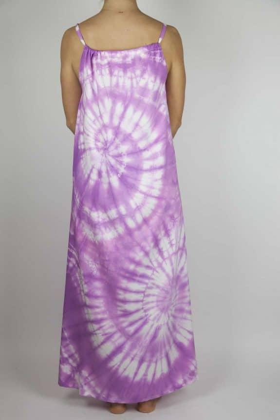Moon dress tie-dye 6 sea me happy purple maxi dress back