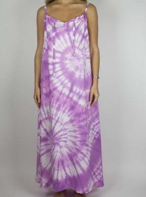 Moon dress tie-dye 6 sea me happy purple maxi dress front