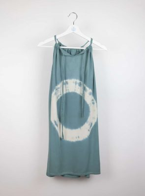 Short dress Sunshine dress tie-dye 8 green/blue, Sea Me Happy
