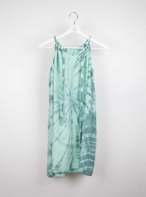Short dress Sunshine dress tie-dye 9 blue/green, Sea Me Happy