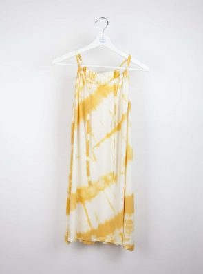 sunshine dress tie-dye yellow Sea Me Happy