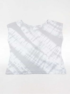 Off shoulder T-shirt tie-dye grey, Sea Me Happy