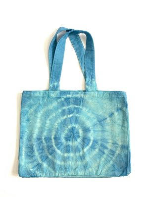 Sea Me Happy beach bag blue