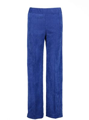 Sea Me Happy gypsy pants corduroy cobalt