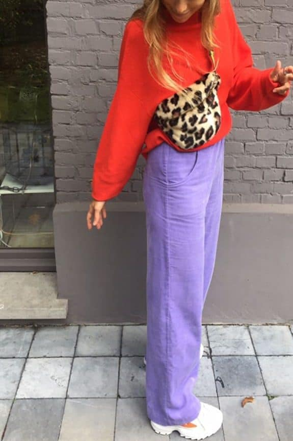 SeaMeHappy gypsy pants purple with pockets