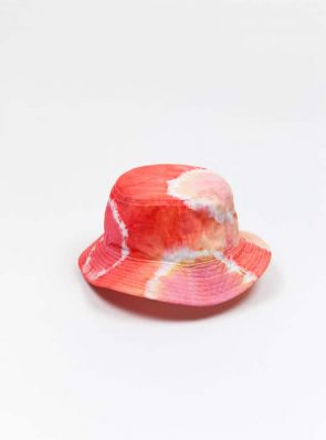 SeaMeHappy tiedye bucket hat multicolour, red-pink