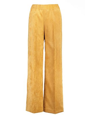 Sea Me Happy gypsy pants corduroy ocher