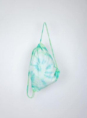 SeaMeHappy tiedye festivalbag green