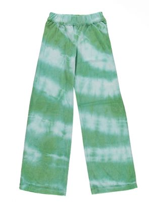 Sea Me Happy Aloha Pants tie-dye green