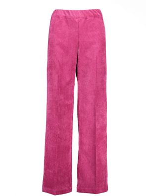 Sea Me Happy gypsy pants corduroy fuchsia