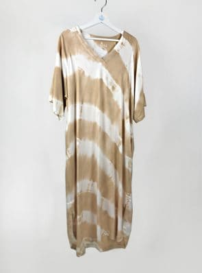 SeaMeHappy ocean dress 1 desert / white