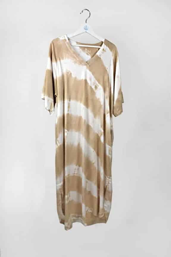 SeaMeHappy ocean dress 1 desert / white