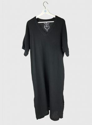 Sea Me Happy Bali Dress black
