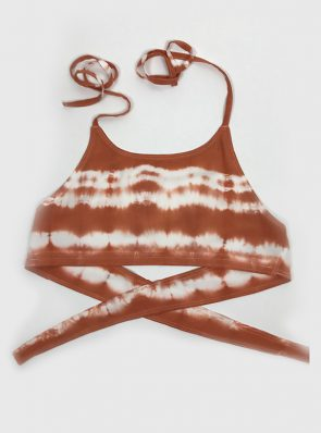 Sea Me Happy Crop top terracotta CRTP3