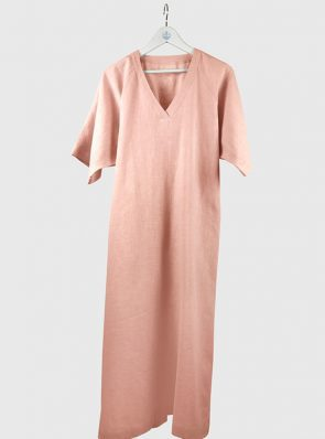 Sea Me Happy Tipi Dress nude colour