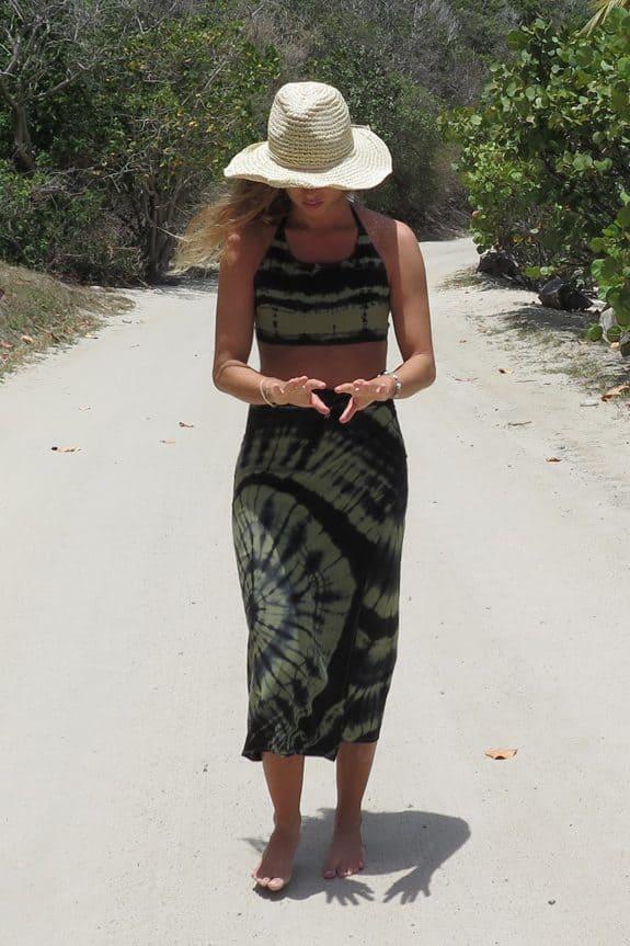 Sea-Me-Happy-tiedye-wrapskirt-zwart-khaki-cooper-island