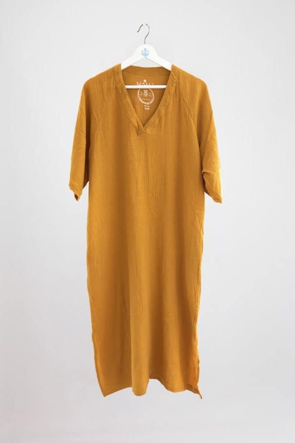 SeaMeHappy-Bali-dress-ochre-yellow
