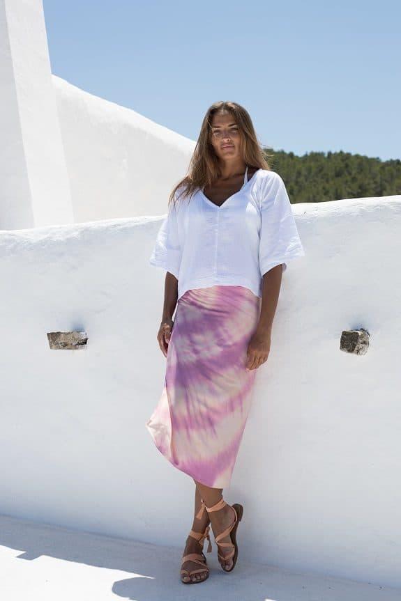 Wrapskirt and Bali Top
