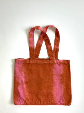 Sea Me Happy beach bag terracotta-rose