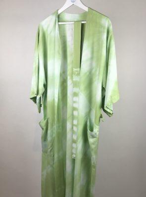Sea Me Happy Kimono 13 grassy green