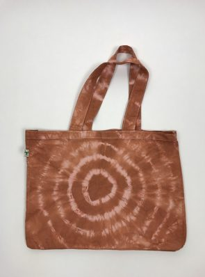 Sea ME Happy Tie-dye beach bag terracotta-rose