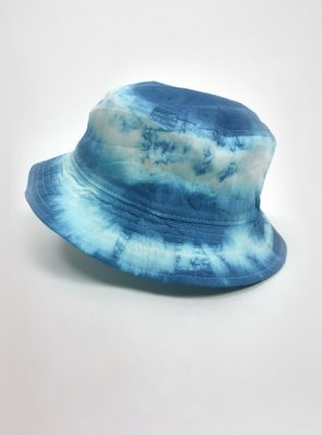 Sea-Me-Happy-tiedye-bucket-hat-ocean-blue