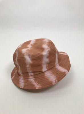 Sea Me Happy Bucket Hat Terracotta-rose, festival hat