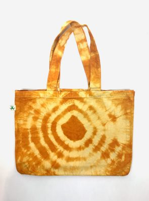 SeaMeHappy-tie-dye-beachbag-gold-BB030