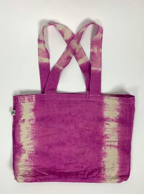 Sea Me Happy beach bag or shopping bag violet
