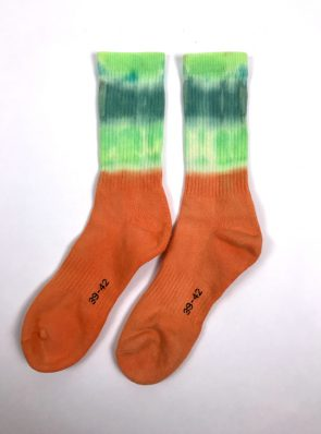 Sea Me Happy Socks tie-dye